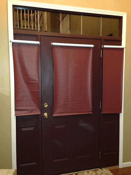 front-door-roller-shades