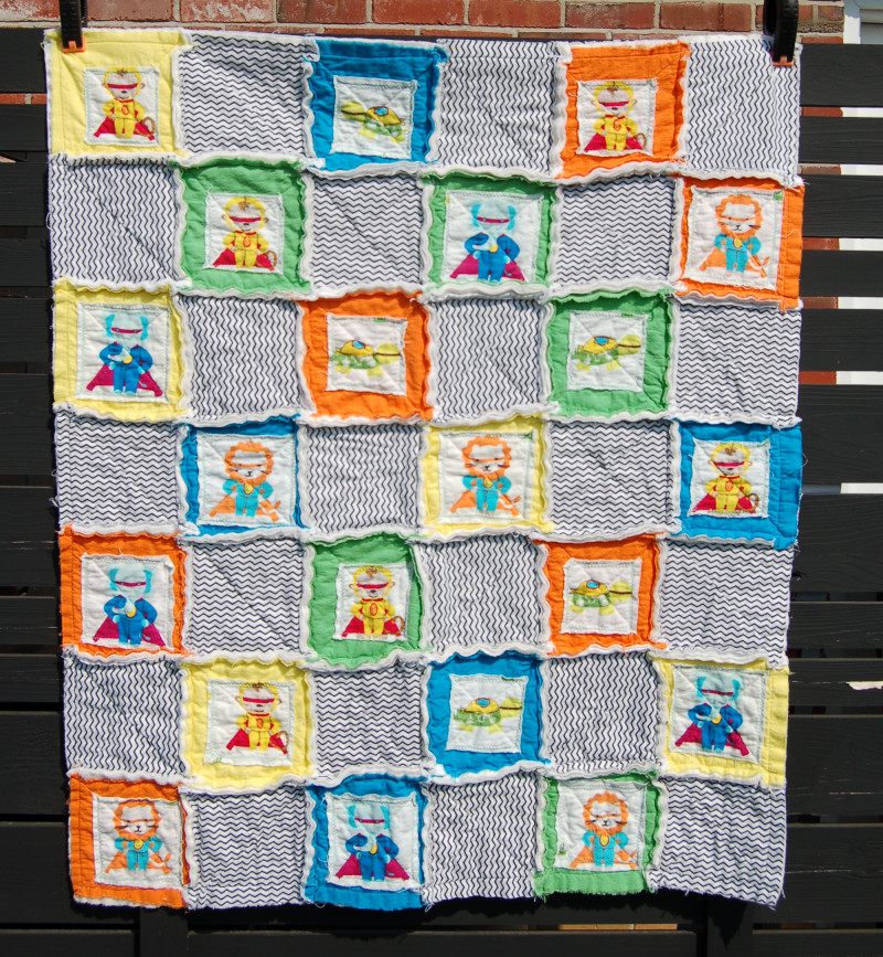 rag quilt patterns