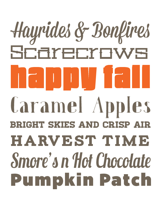 fall printable poster from The DesigNest