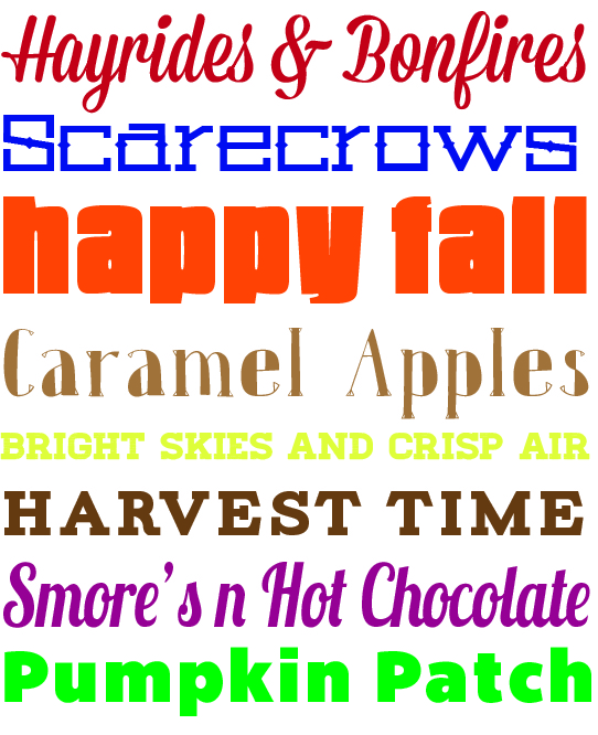 free printable fall posters from TheDesigNest.com