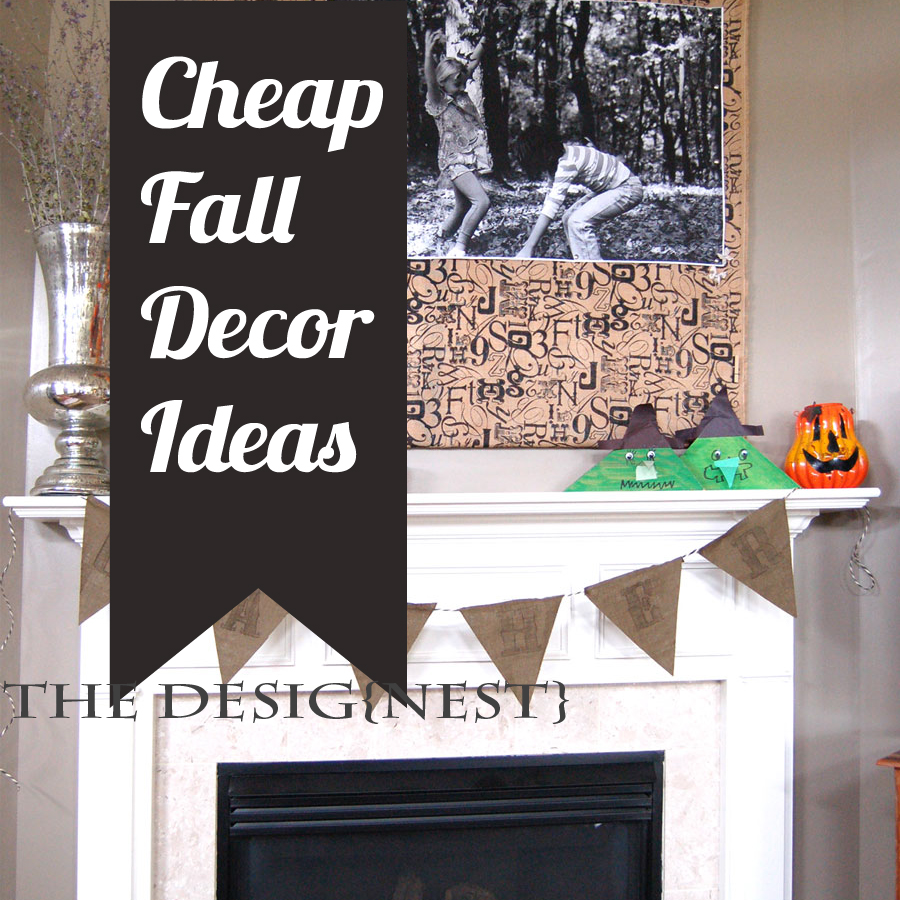 Fall Decorating Ideas Craft Blog
