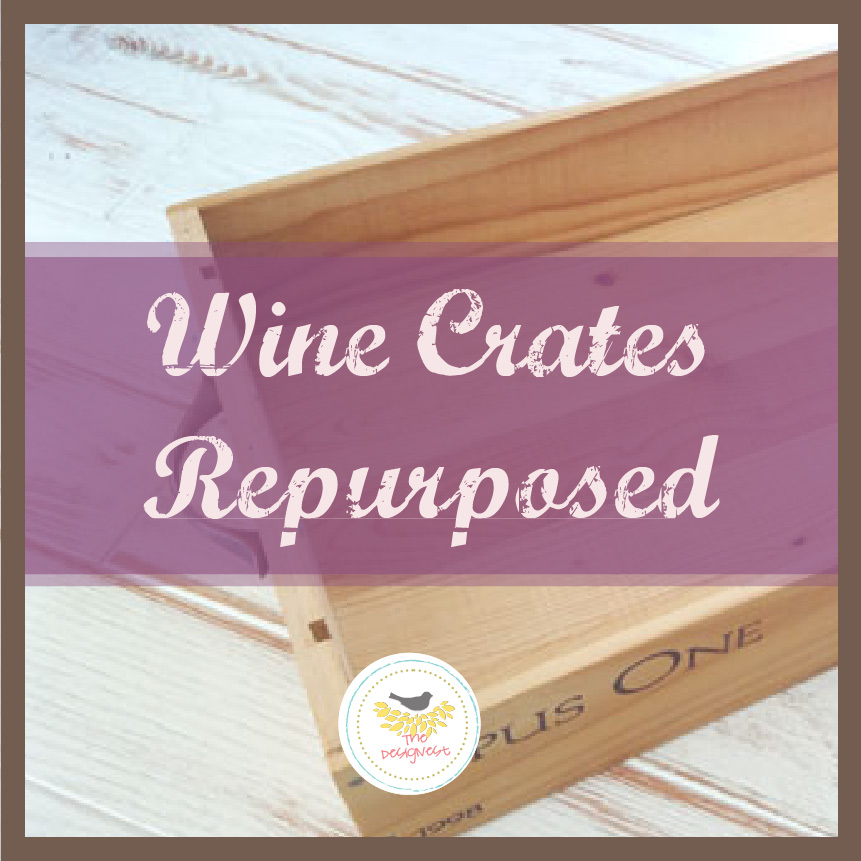 Turn old wood #wine boxes into beautiful accessories. thedesignest.com