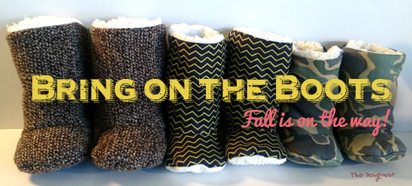 Baby Boots for Fall! These baby boots are so adorable!