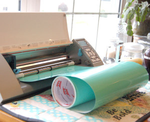 Make a Silhouette mat for cutting vinyl on a roll.