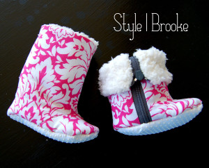 Really adorable baby booties to check out.     thedesignest.com
