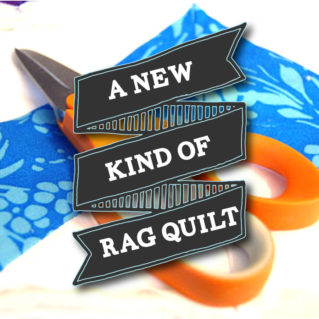 Chevron Rag Quilt Pattern