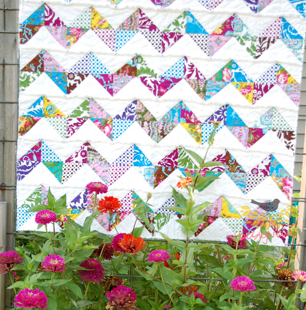 Rag Quilts from TheDesignest #ragquilt