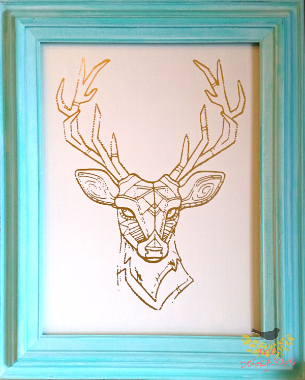 #diy #deer #home #decor