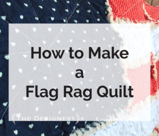 Flag Rag Quilt Pattern