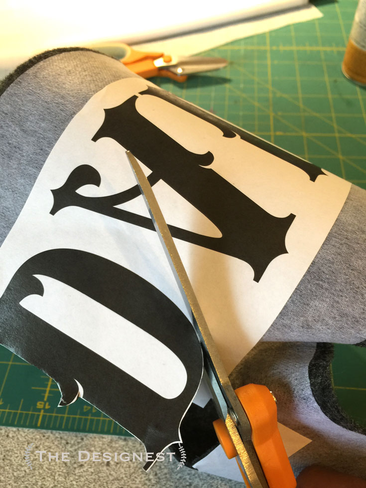This tutorial shows you how to print out any letters, and sew them on to any fabric! It's not as hard as you think!!