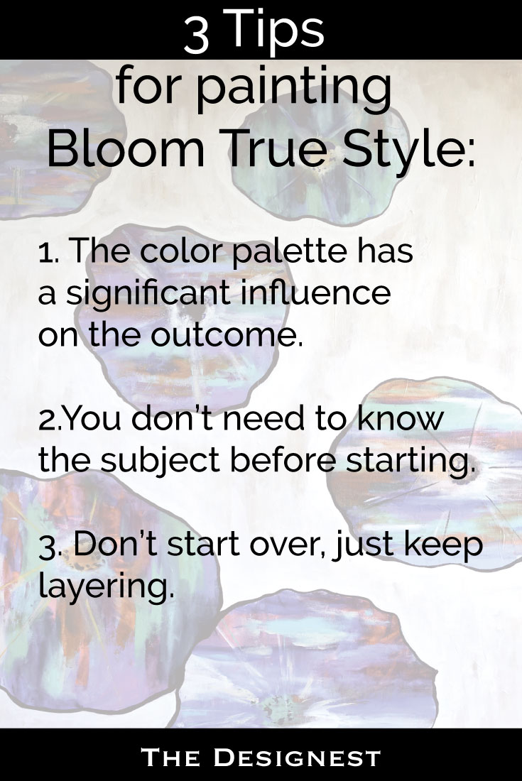 Never taken an art class but always wanted to? I did! I ended up taking this online painting course called Bloom True. You can read my review & tips on the blog.