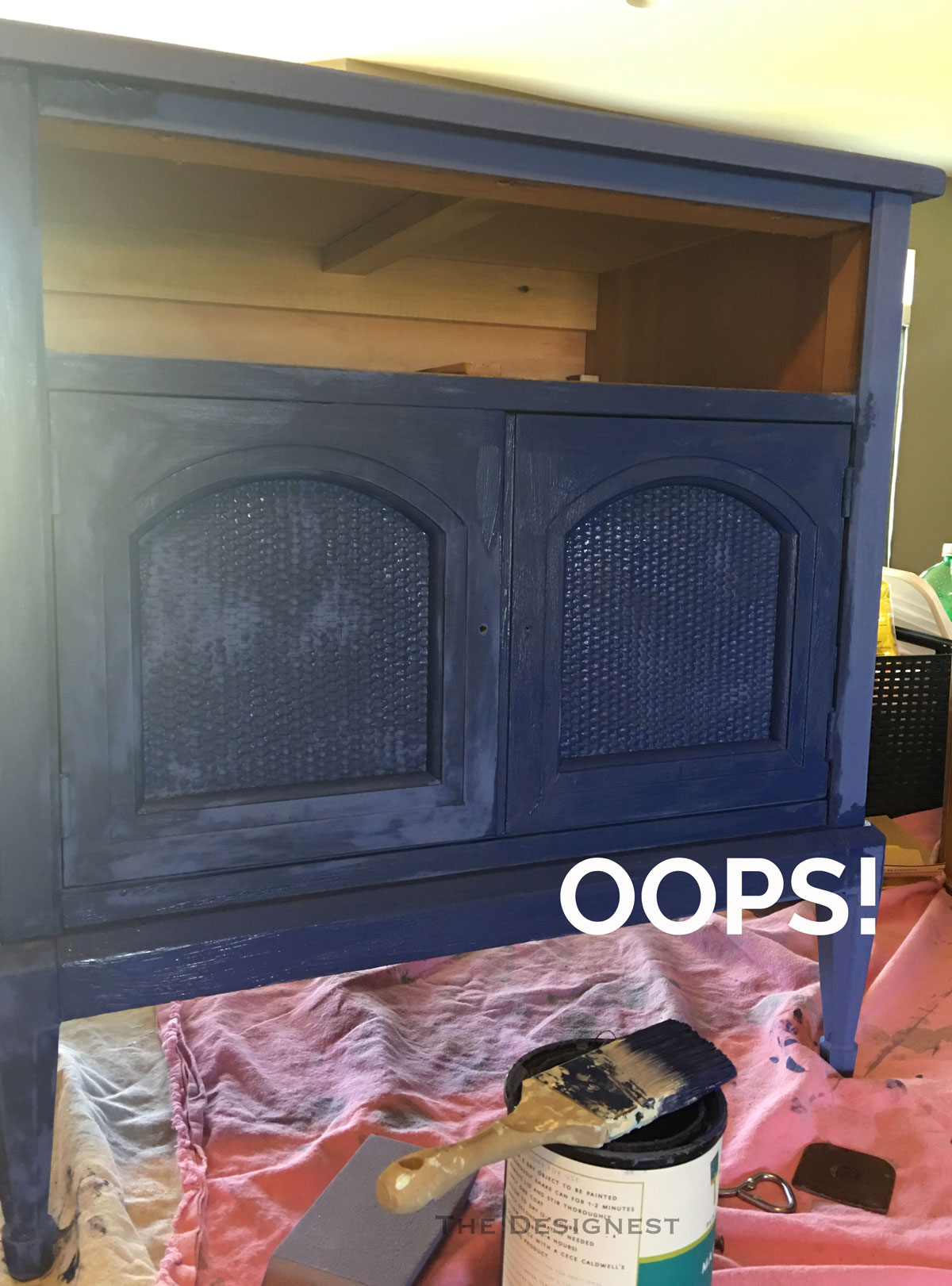 When you paint furniture, don't make this mistake!